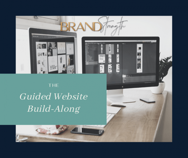 Build your own website with the guidance of a professional web designer
