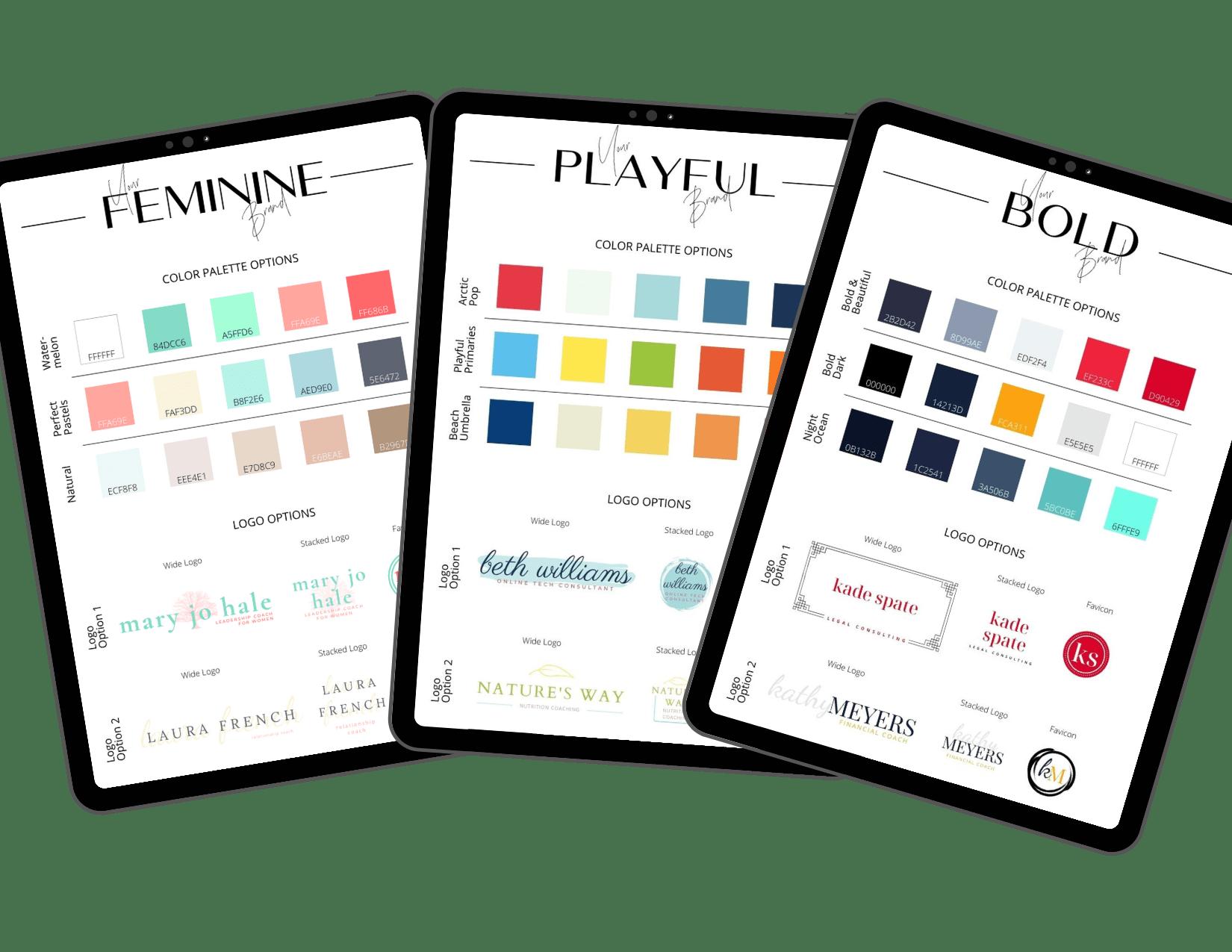 Brand Kits help you create a beautiful brand easily